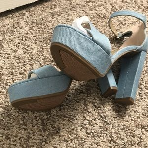 Guess Shoes - Guess high heels size 7